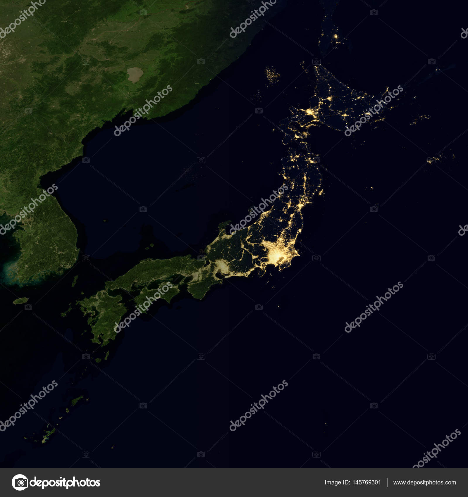 city lights on world map japan elements of this image are furnished by nasa photo by nasaimage