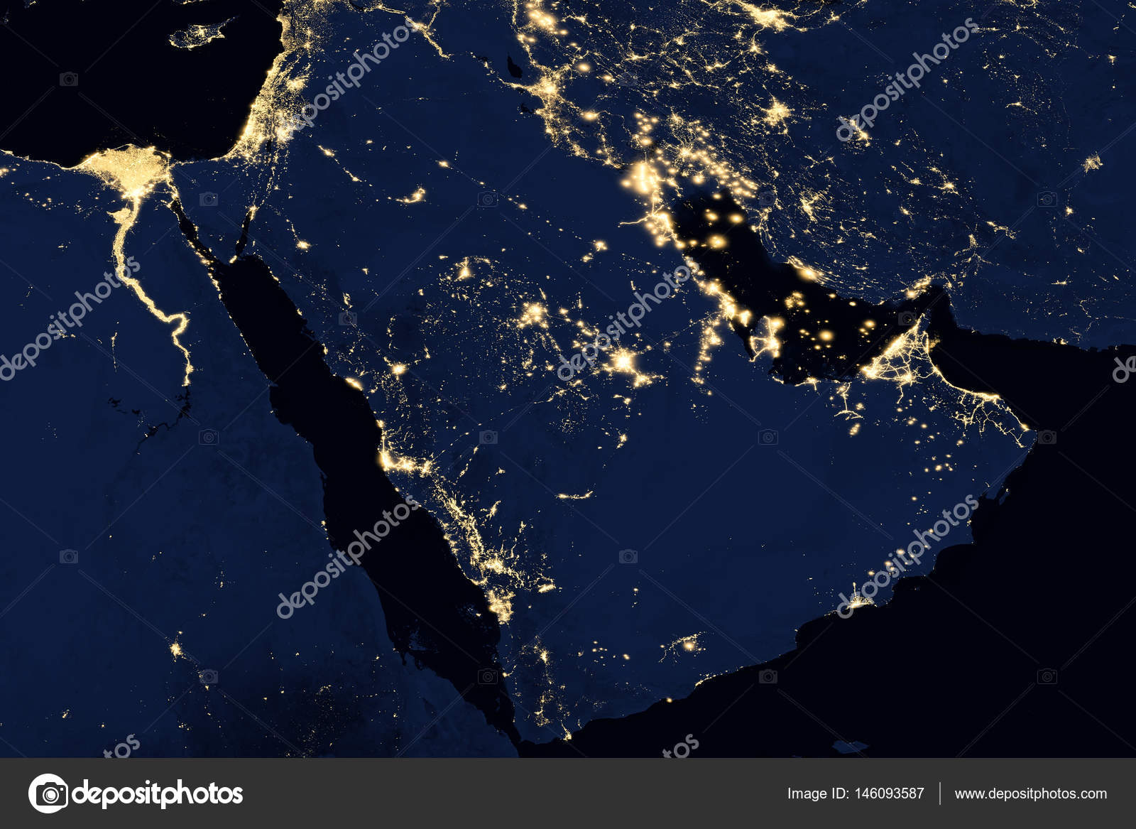 City lights on world map arabian peninsula stock photo nasa city lights on world map arabian peninsula elements of this image are furnished by nasa photo by nasaage sciox Gallery
