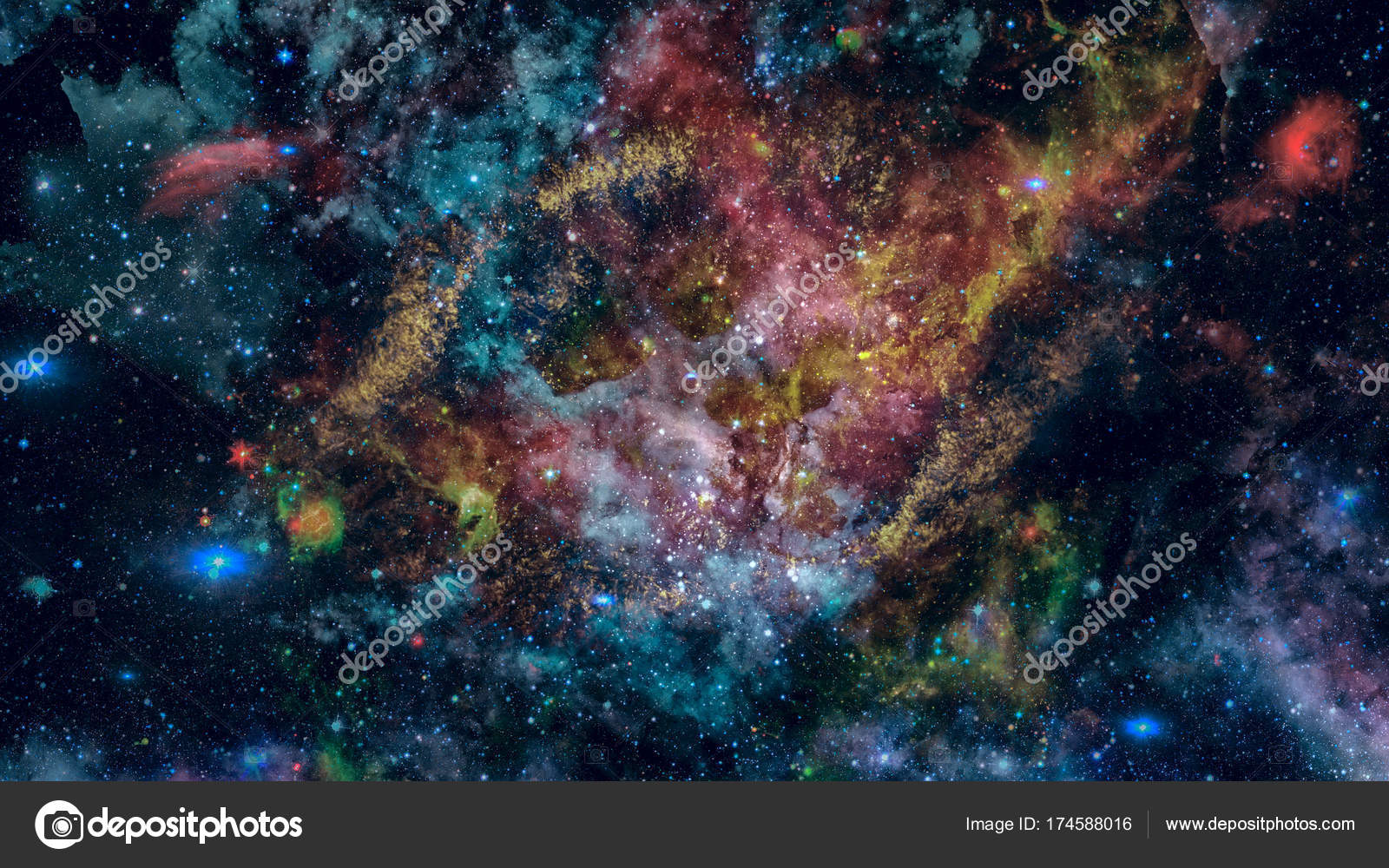 Cosmic Art Science Fiction Wallpaper Beauty Of Deep Space Elements This Image Furnished By NASA Photo NASAimage