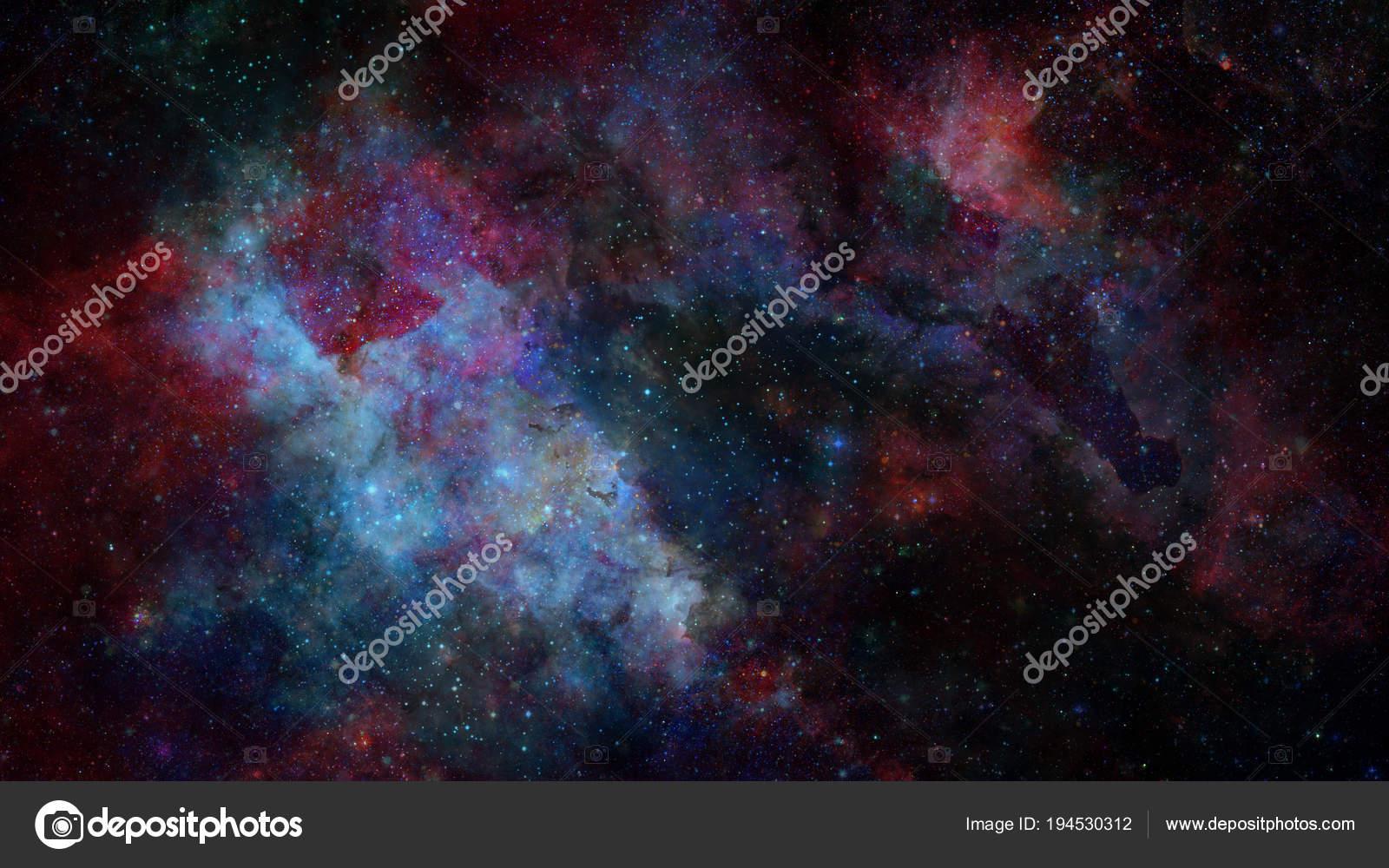 256dc2006 Barevné mlhoviny a otevřená hvězdokupa hvězd ve vesmíru. Prvky tohoto  obrázku jsou podle Nasa — Fotografie od ...