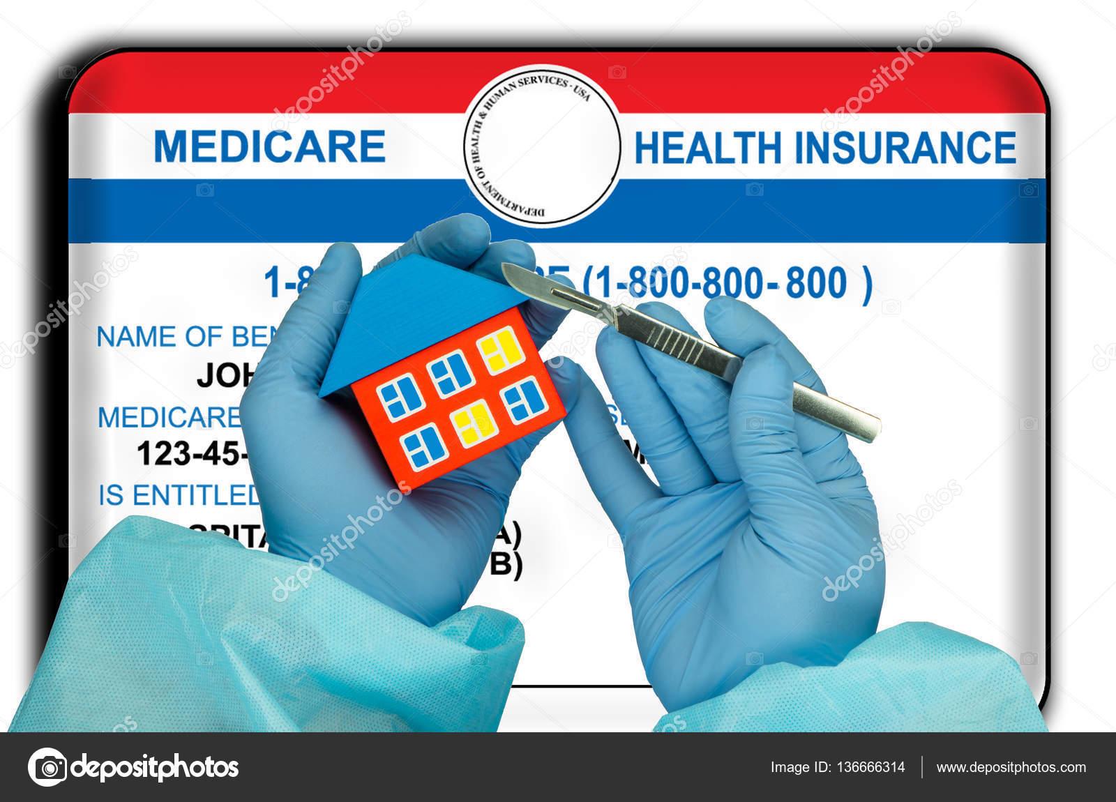 Tarjeta Del Seguro Medico De Estados Unidos Foto De Stock C Tom934