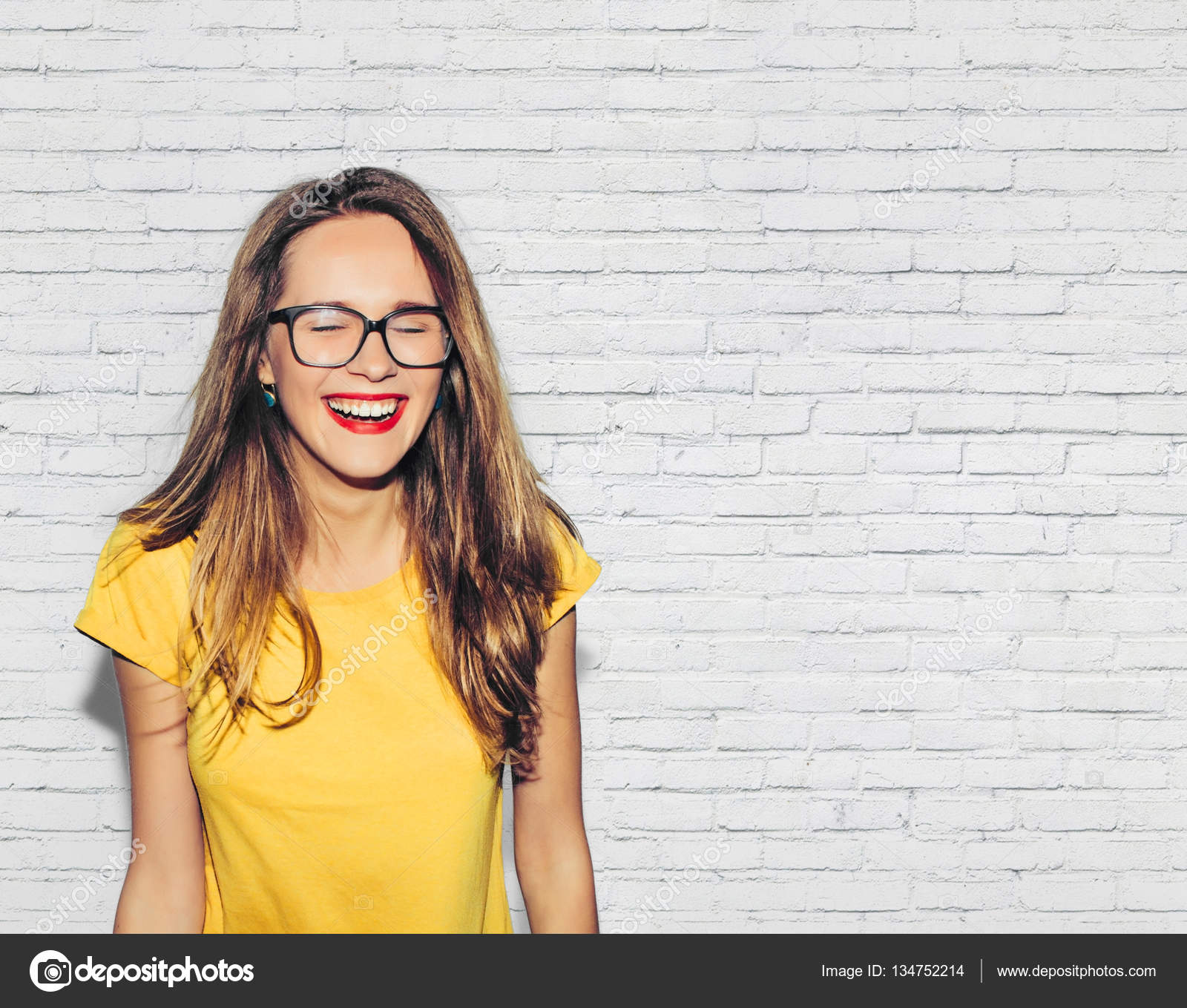 Closeup Fashion Young Hipster Blonde Girl Stock Photo - Image ...