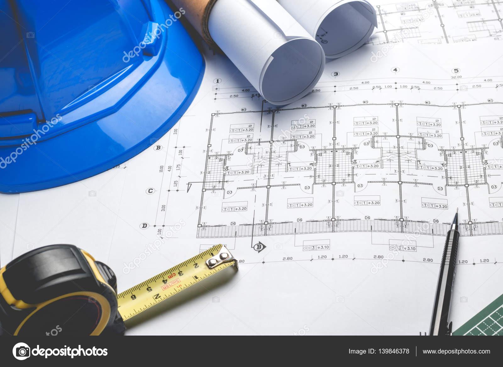 Engineering diagram blueprint paper drafting project stock photo engineering diagram blueprint paper drafting project stock photo malvernweather Choice Image