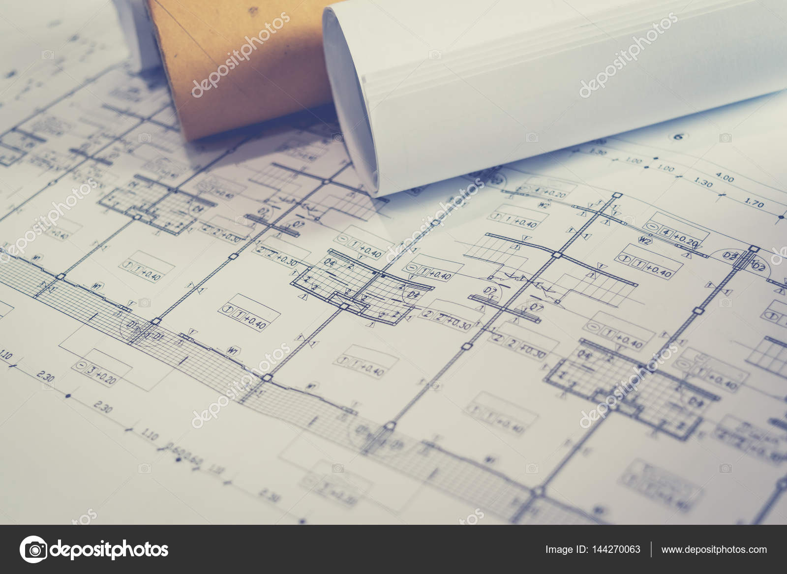 Engineering diagram blueprint paper drafting project sketch stock engineering diagram blueprint paper drafting project sketch stock photo malvernweather Image collections