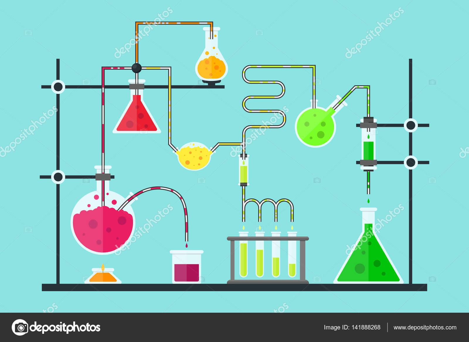 Dibujos De Quimica De Laboratorio Animados Buscar Con
