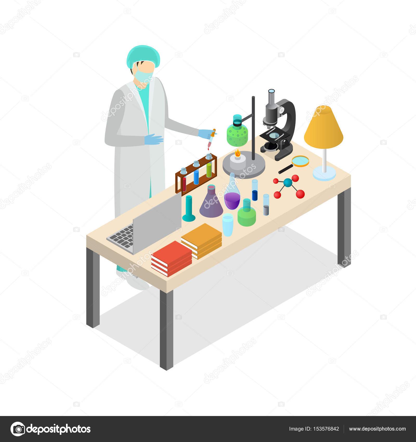 Pessoa de cientista no laboratório conceito experimento