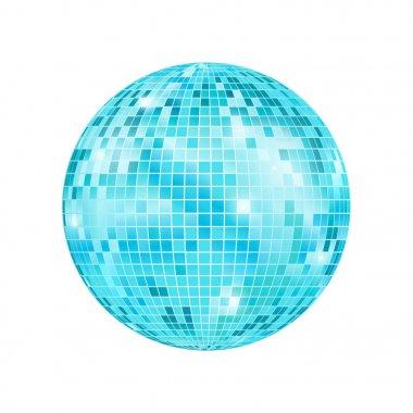 Realistic Detailed Disco Ball. Vector