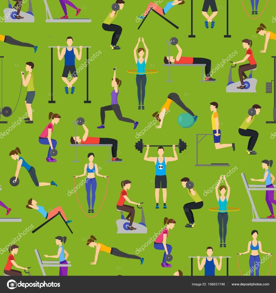Fondos de pantalla gym animado
