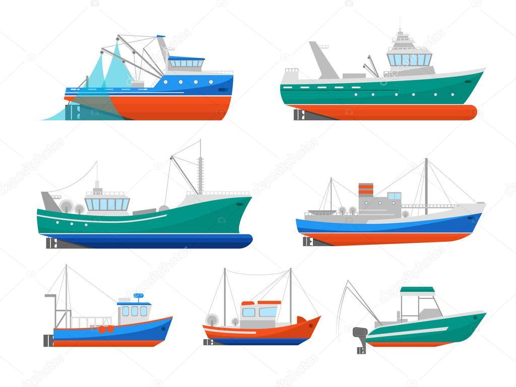 Dibujos: Pesca Industrial Animados