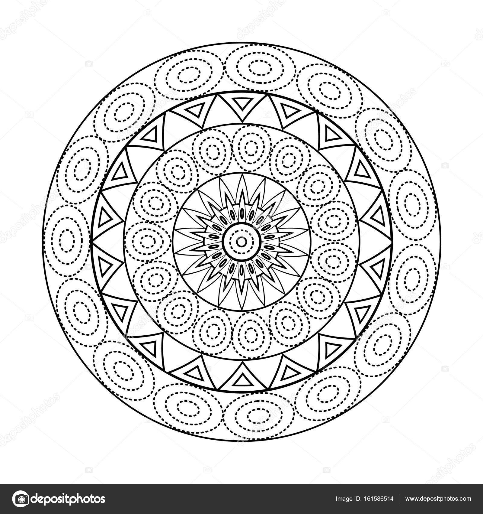Mandalas Blanco Para Imprimir Mandalas Para Colorear Libro