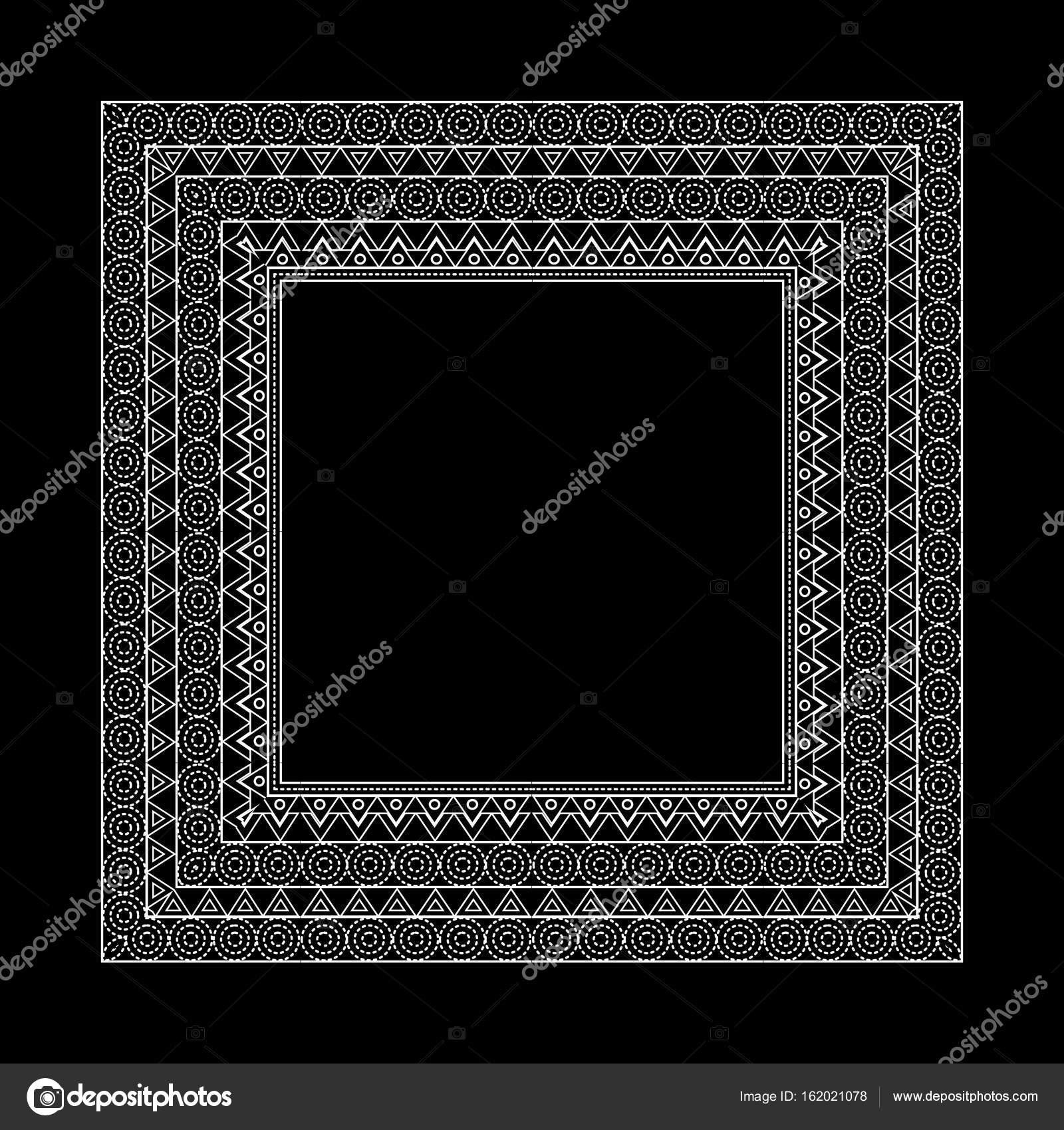 Fronteras y marco ornamentado vector set — Archivo Imágenes ...