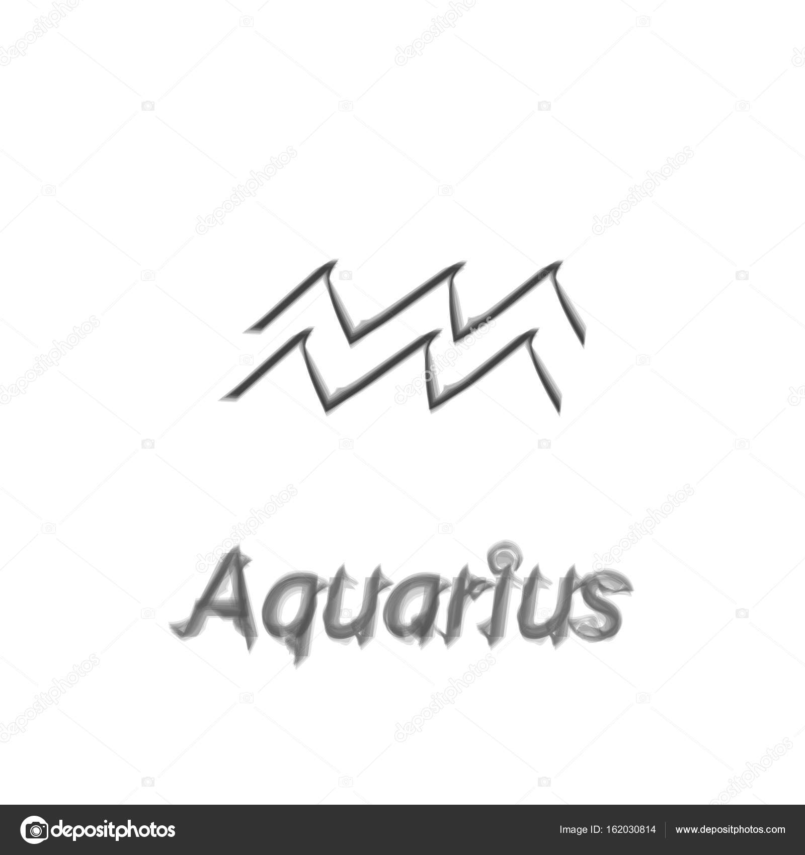 The water bearer aquarius sing star constellation vector element the water bearer aquarius sing star constellation vector element age of aquarius constellation zodiac symbol on light white background vector by asnia biocorpaavc Choice Image