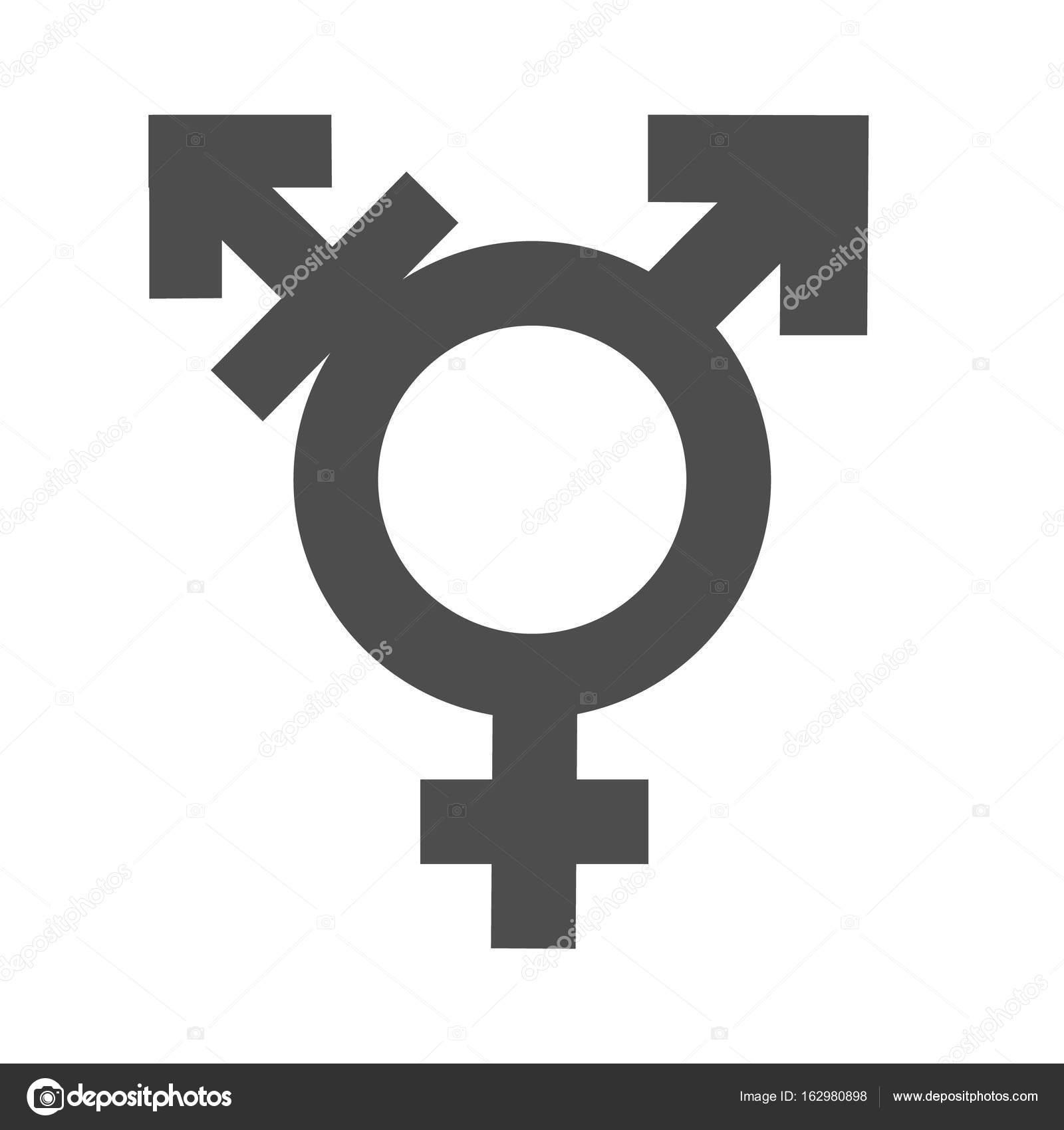 Männlich Weiblich Symbol
