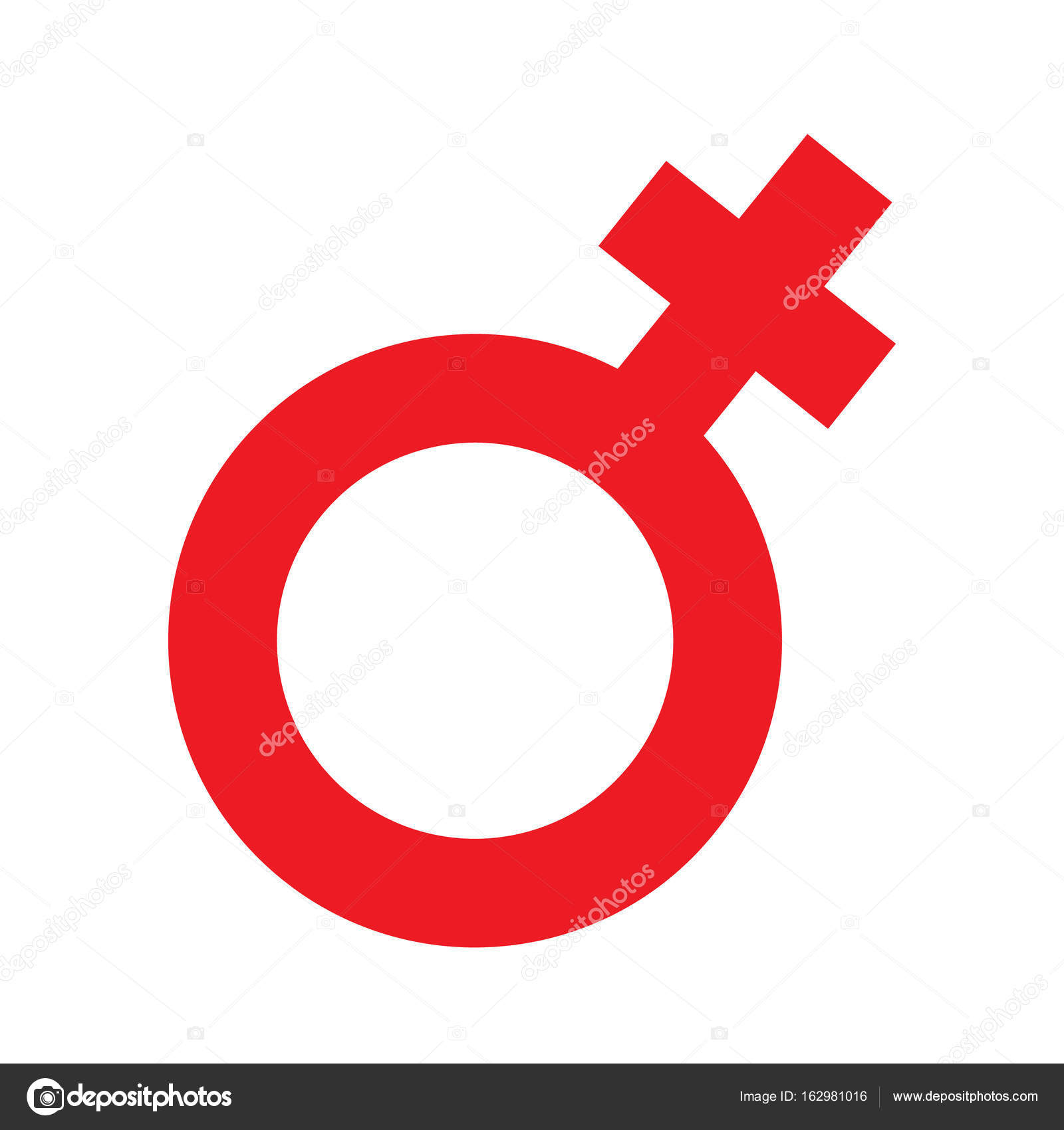Gender Inequality And Equality Icon Symbol Male Female -2883