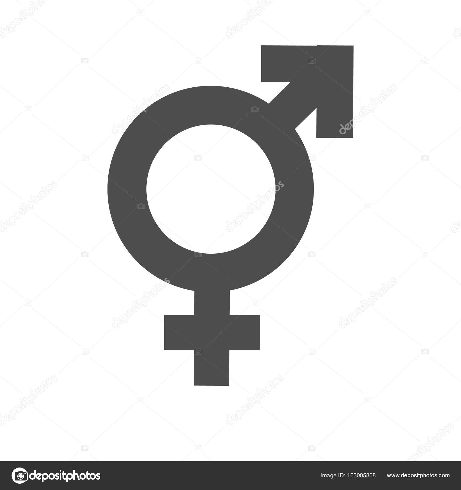 Gender Inequality And Equality Icon Symbol Male Female -1819