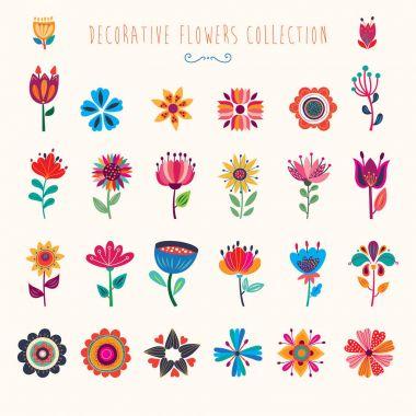 "Картина, постер, плакат, фотообои ""decorative floral collection"", артикул 161351496"
