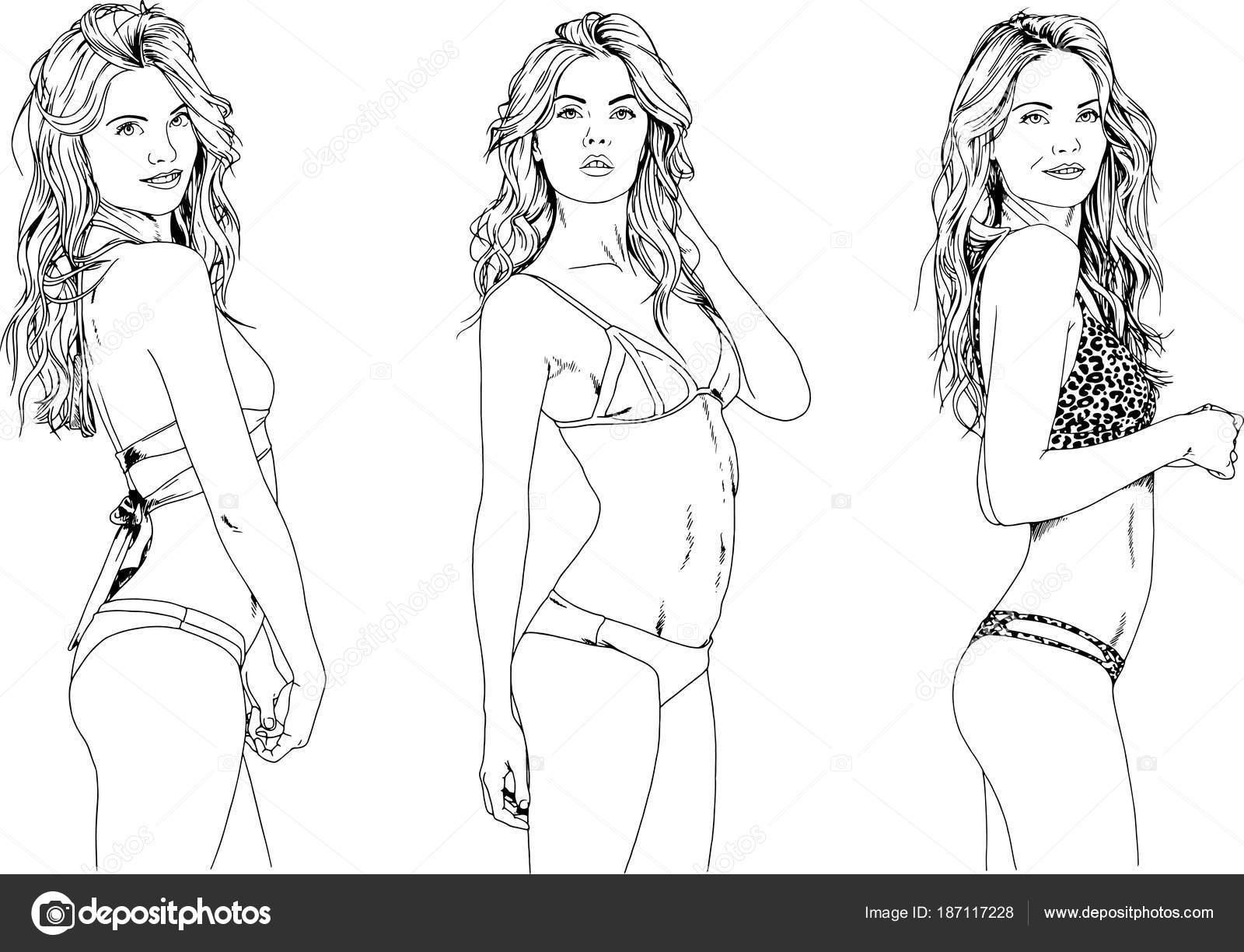 Рисунки сексуалных девушек