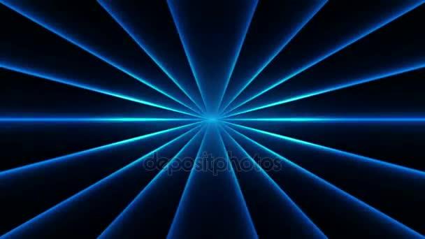 VJ kék fény esemény koncert dance zenei videók szakasz fél absztrakt led neon alagút háttér hurok