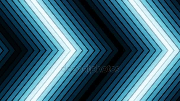 Blau auf schwarzem Musikvideo