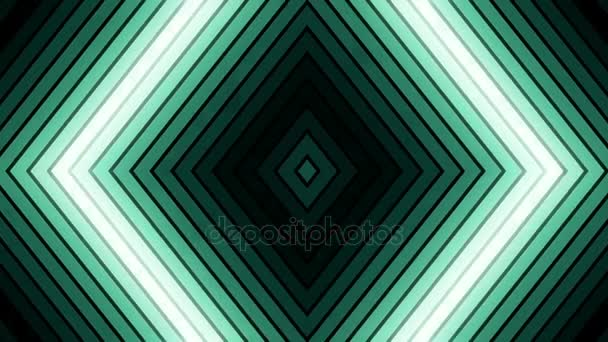VJ green light event concert dance music videos stage party abstract led neon tunnel background loop