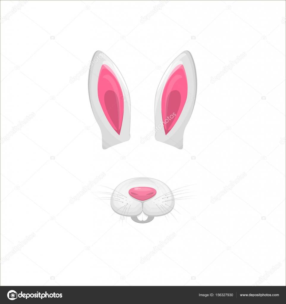 coelho enfrenta elementos ilustração em vetor caráter animal de