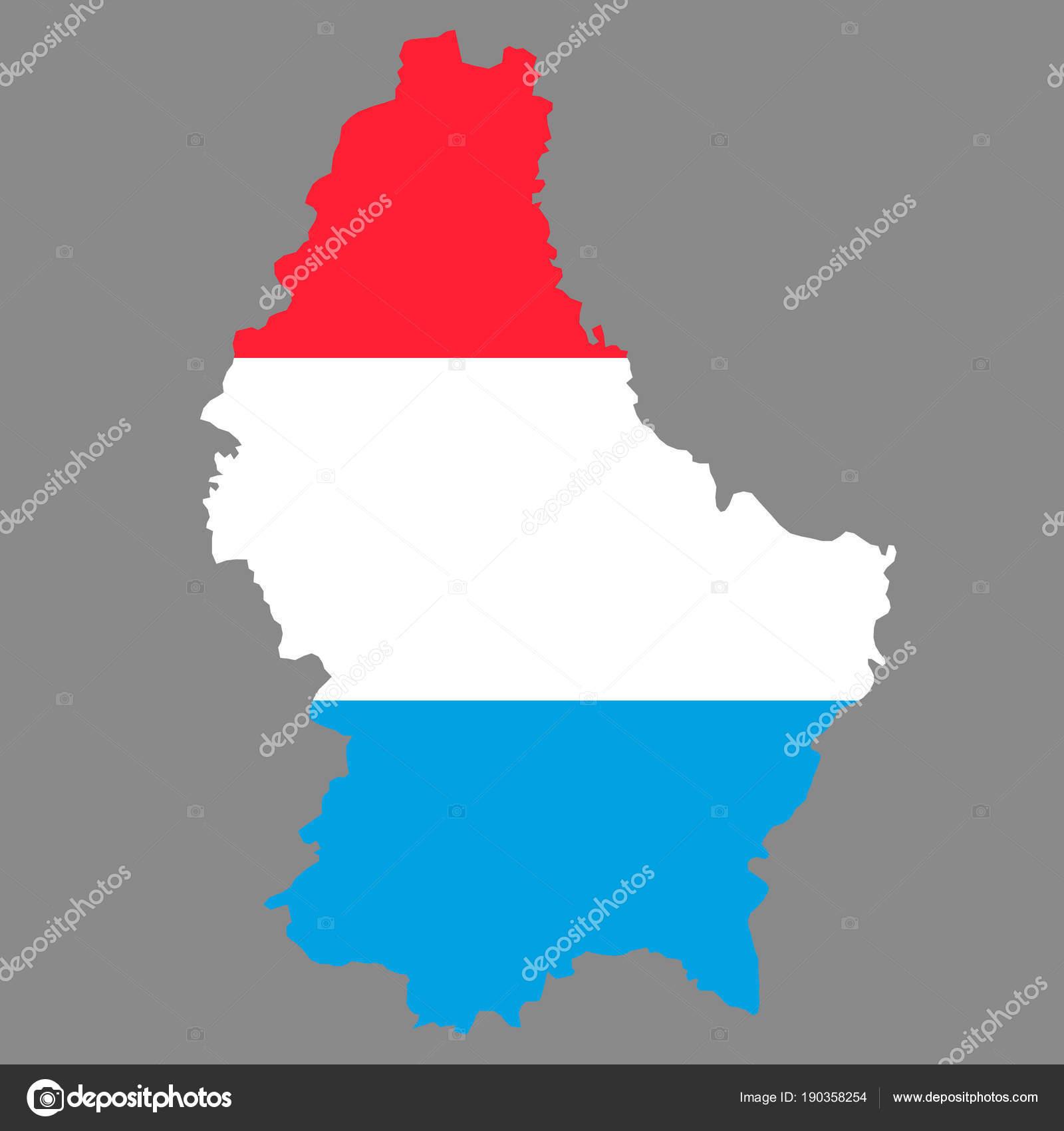 mapa luxemburgo pais mapa de fronteiras de país de silhueta de Luxemburgo no fundo da  mapa luxemburgo pais
