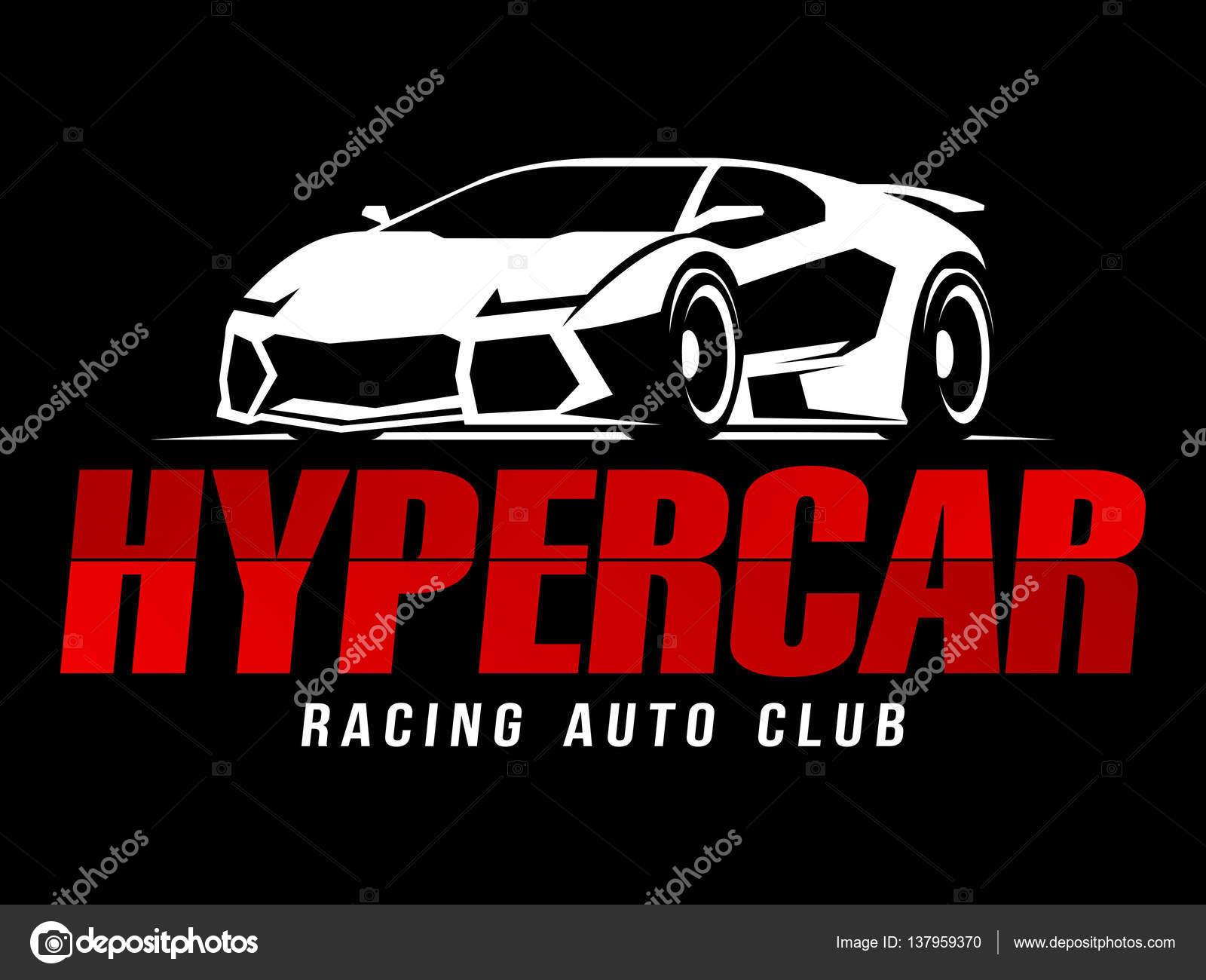 Design car club logo - Racing Auto Club Hypercar Logo Stock Vector 137959370