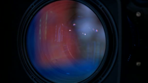 Kamera Objektiv Nahaufnahme, Zoom in der Linse