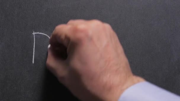Concept, close-up of a mans hand writing the word diet on a chalkboard