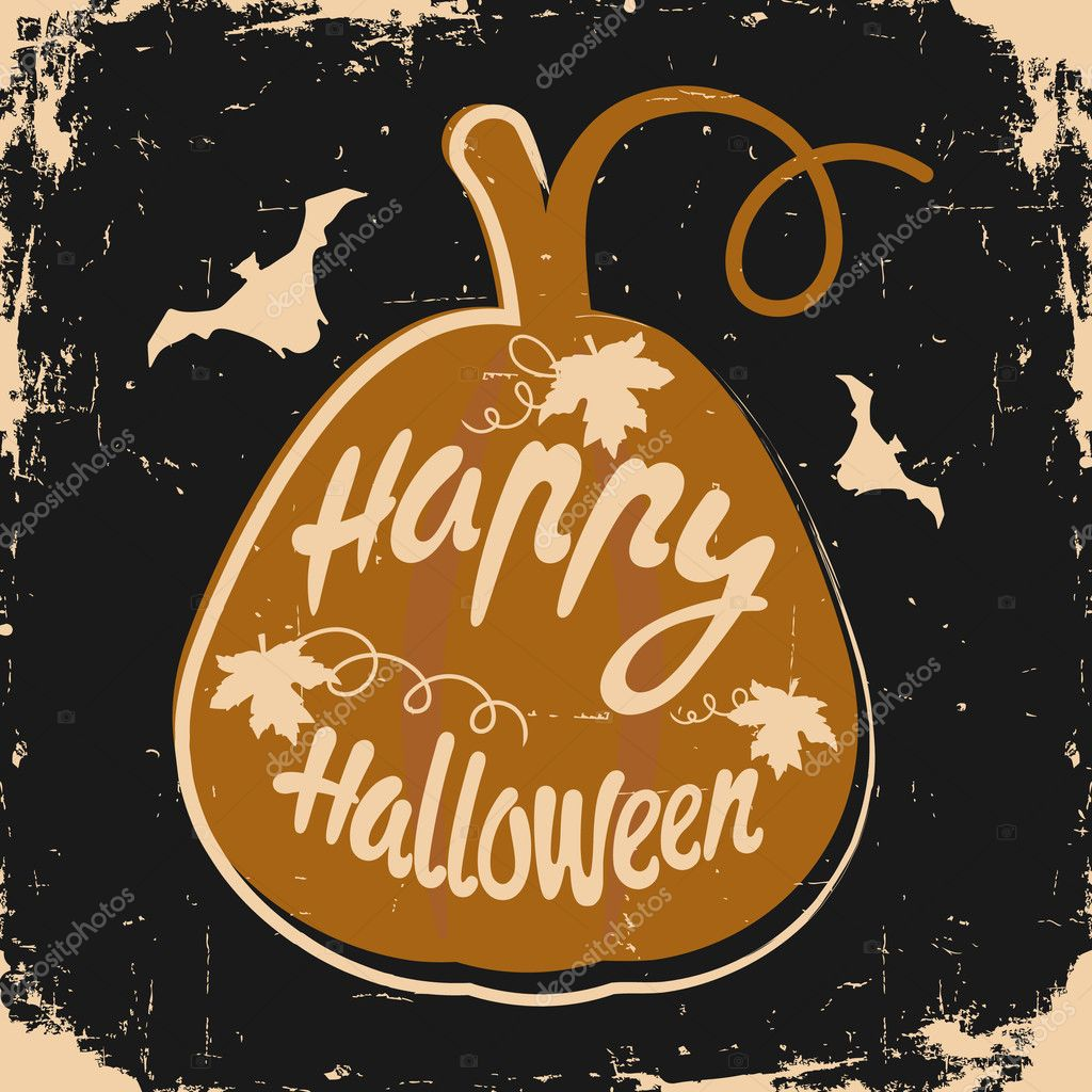 Happy halloween background stock vector olhayerofieieva 126901672 happy halloween message design background vector illustration this illustration can be used as a greeting invitation poster print on t shirt or bag m4hsunfo