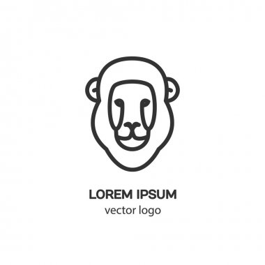 lion zodiac logo