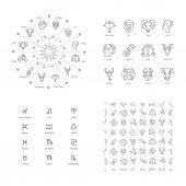 sada astrologické symboly