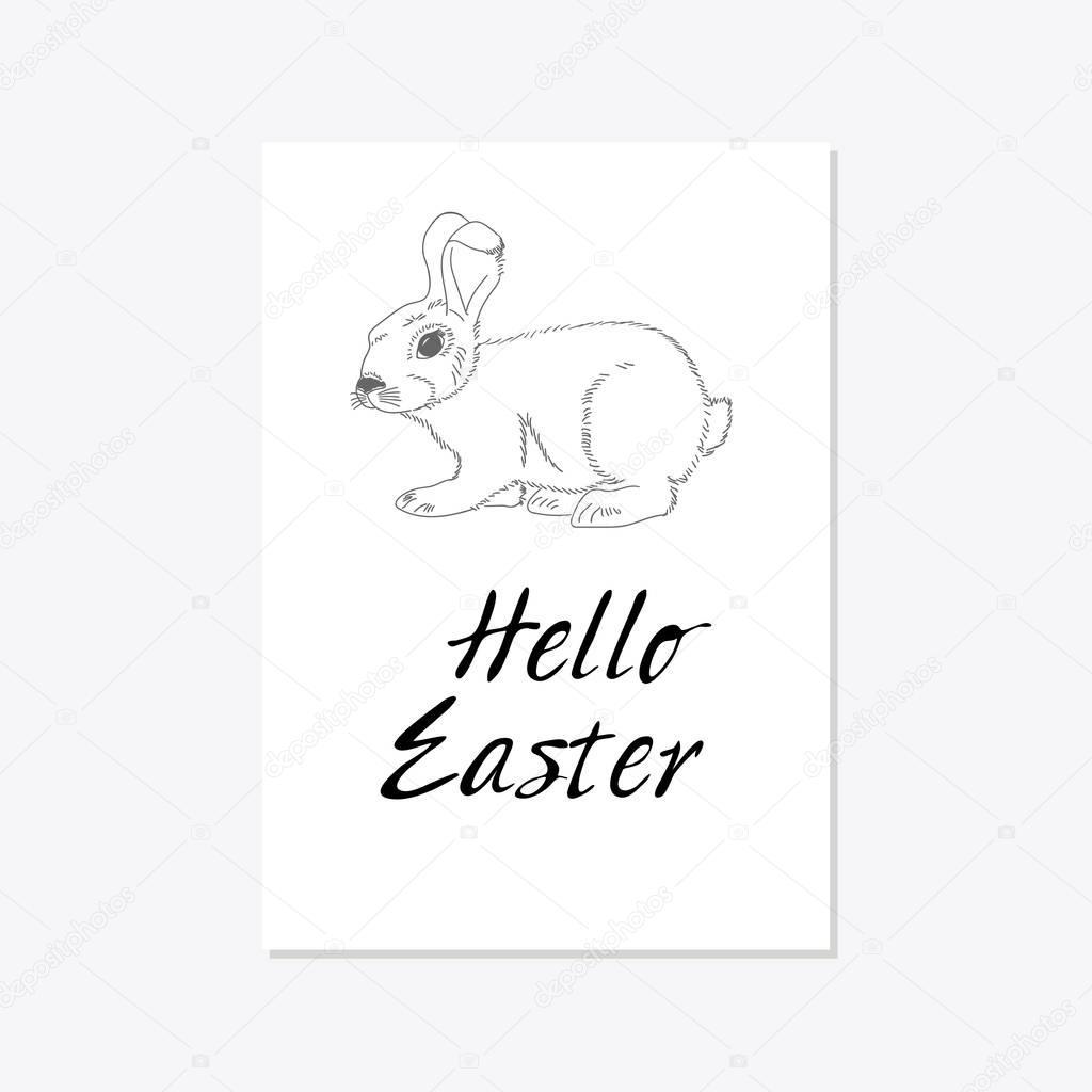 Easter celebration card