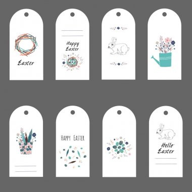 Easter gift tags and labels