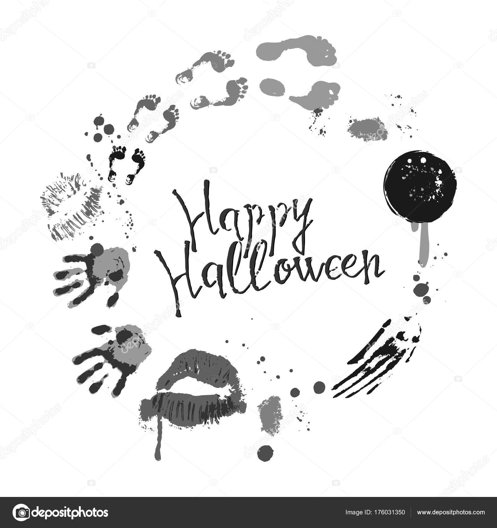 Vector of halloween poster stock vector olhayerofieieva 176031350 vector of halloween poster designs with halloween symbols and calligraphy scary halloween card party invitation design greetings words and phrases kristyandbryce Images
