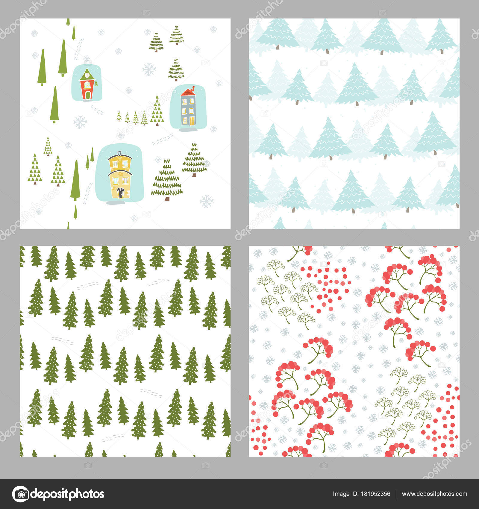 patrón sin costuras de Navidad — Vector de stock © OlhaYerofieieva ...