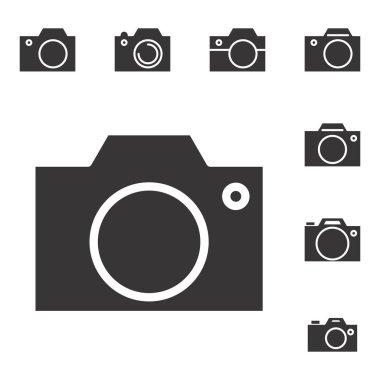 Photo Camera Icon or Snapshot Sign