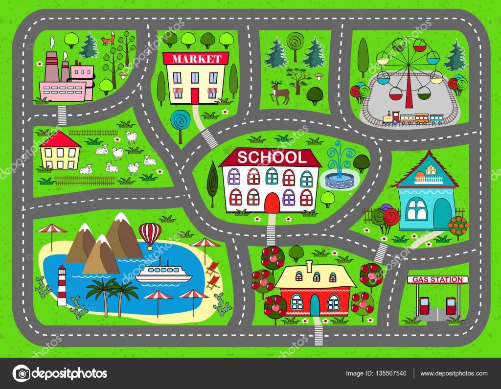 Weg Spelen Mat Voor Kinderen Activiteiten En Entertainment