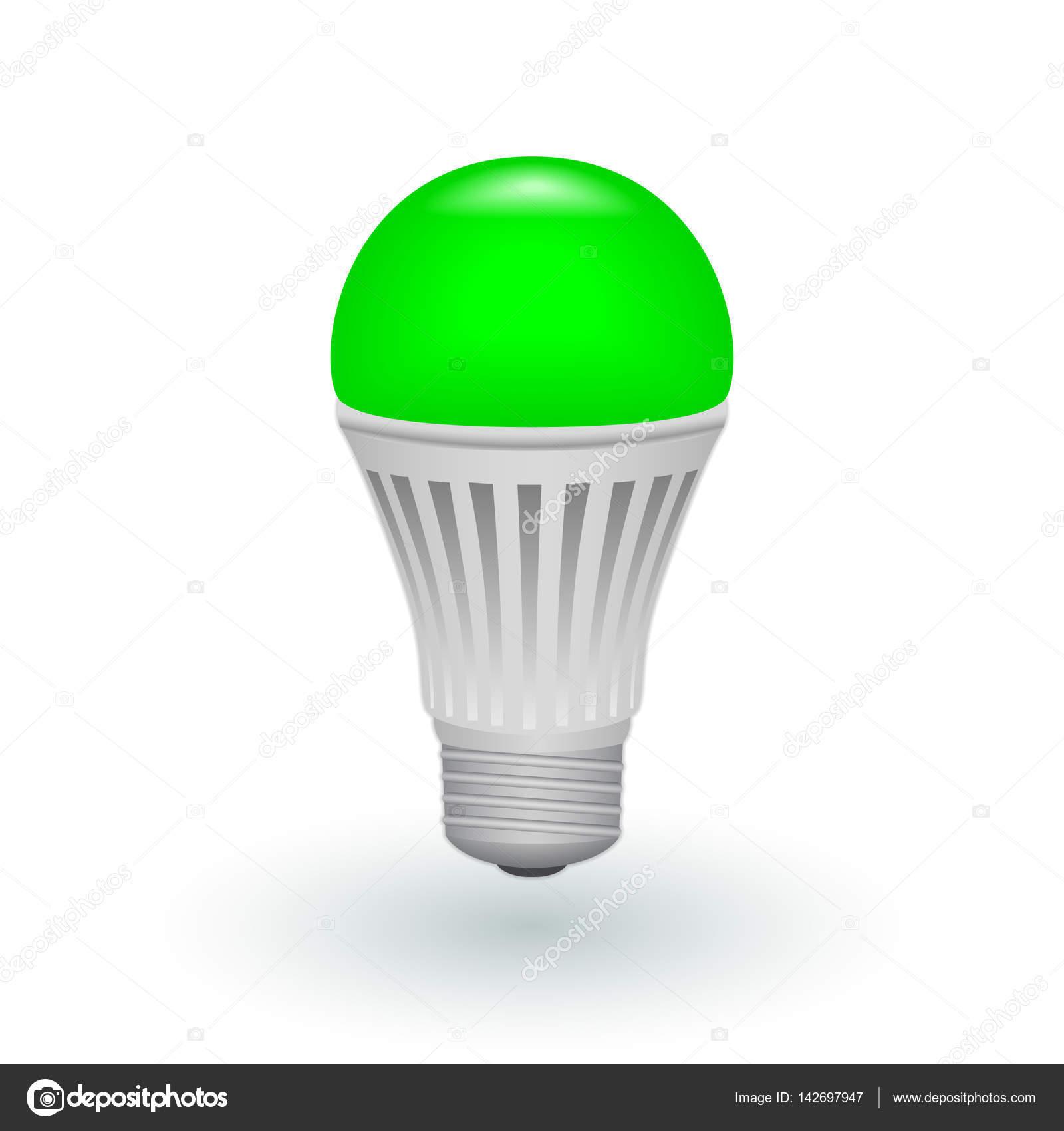 depositphotos 142697947 stock illustration led green economical light bulb 5 Élégant Lampe Economique Led Ldkt