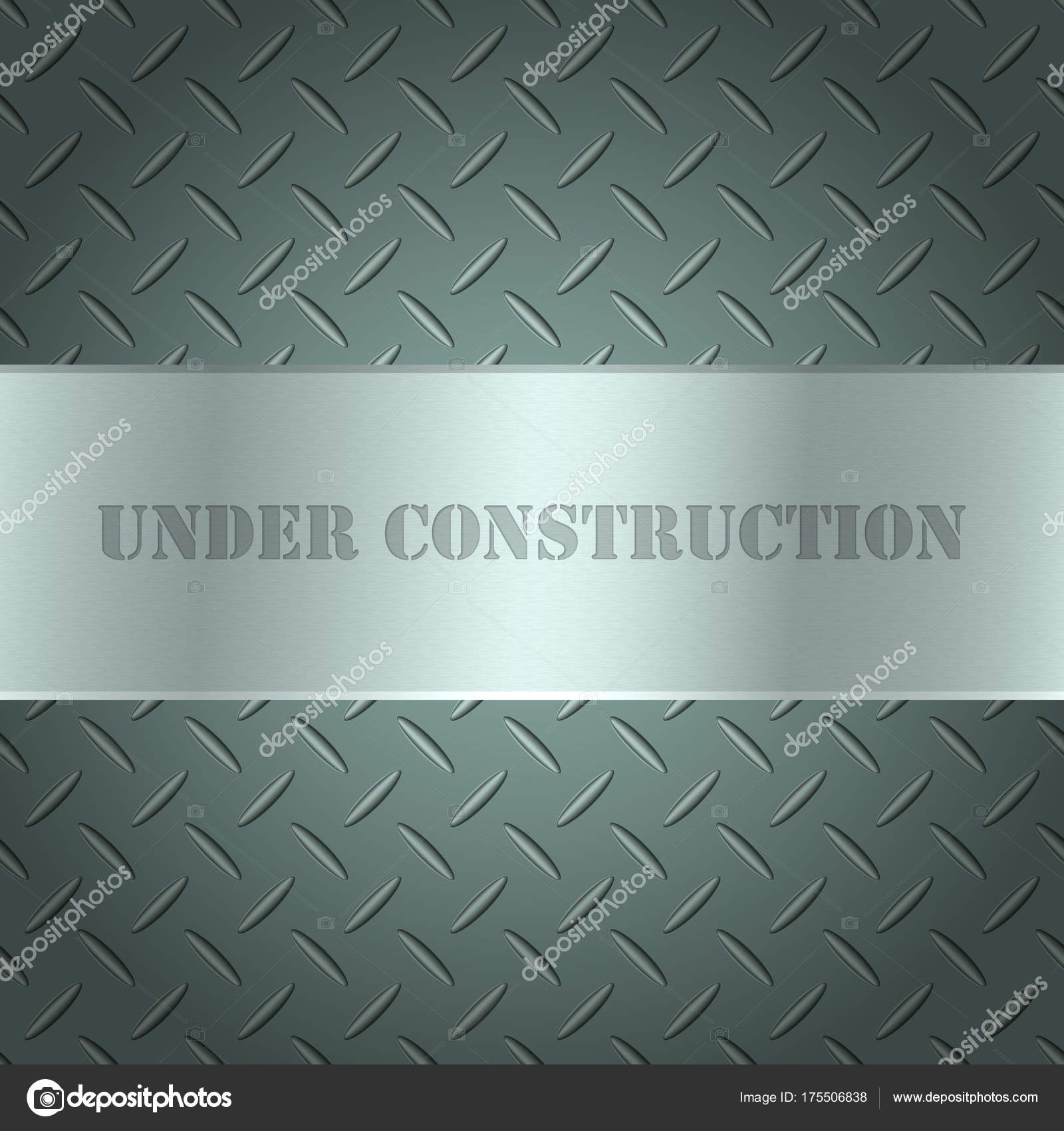 Metallic background with tread plate texture and steel textured ...