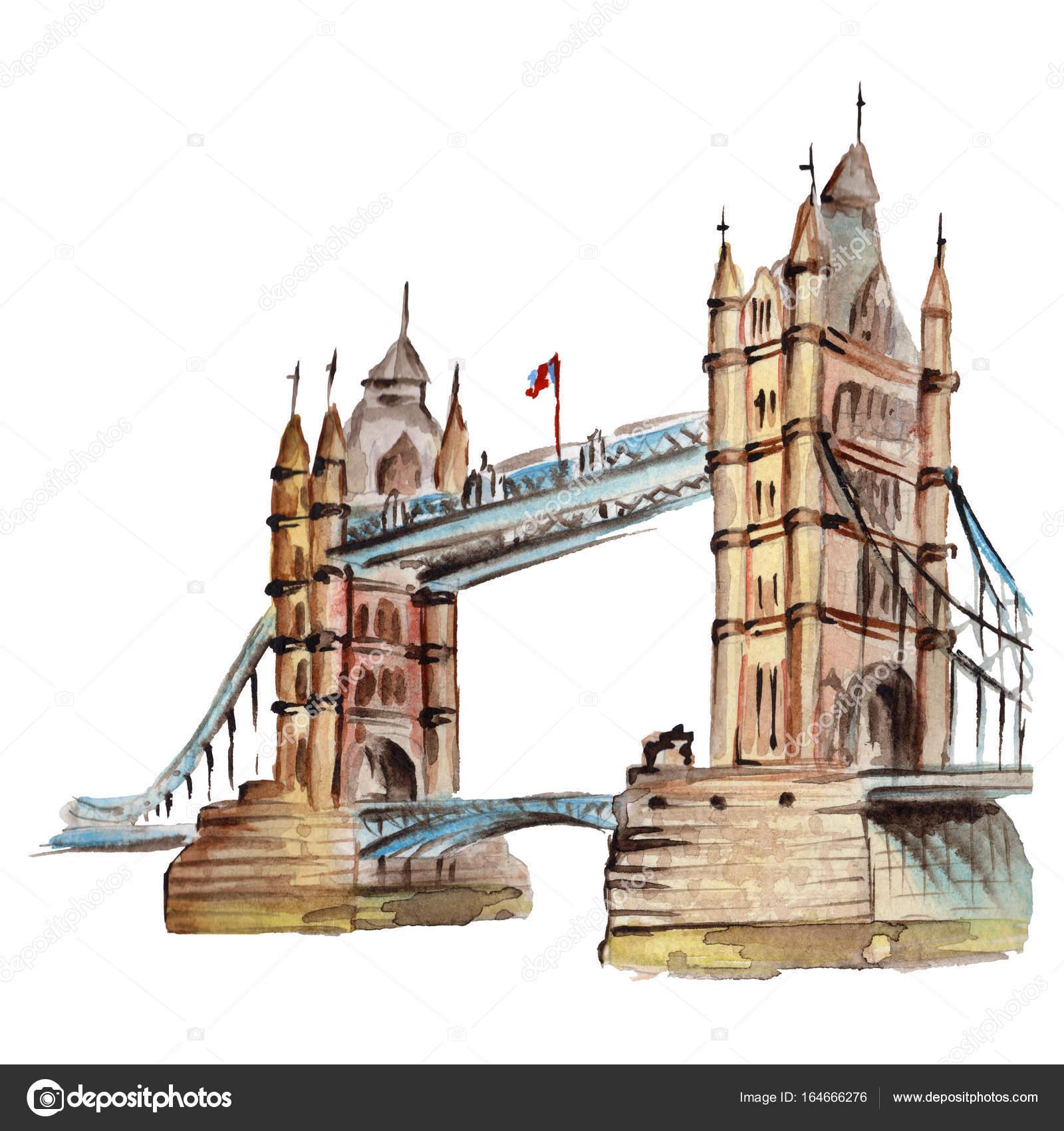 Watercolor london illustration great britain hand drawn symbols watercolor london illustration great britain hand drawn symbols stock photo biocorpaavc