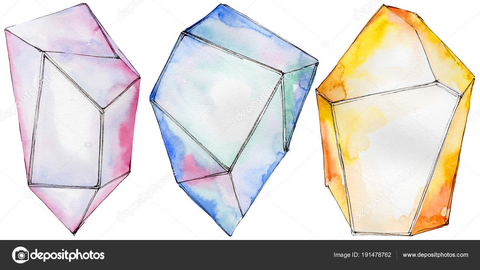 2551f0b06 Színes gyémánt rock ékszerek ásványi — Stock Fotó © MyStocks #191478762