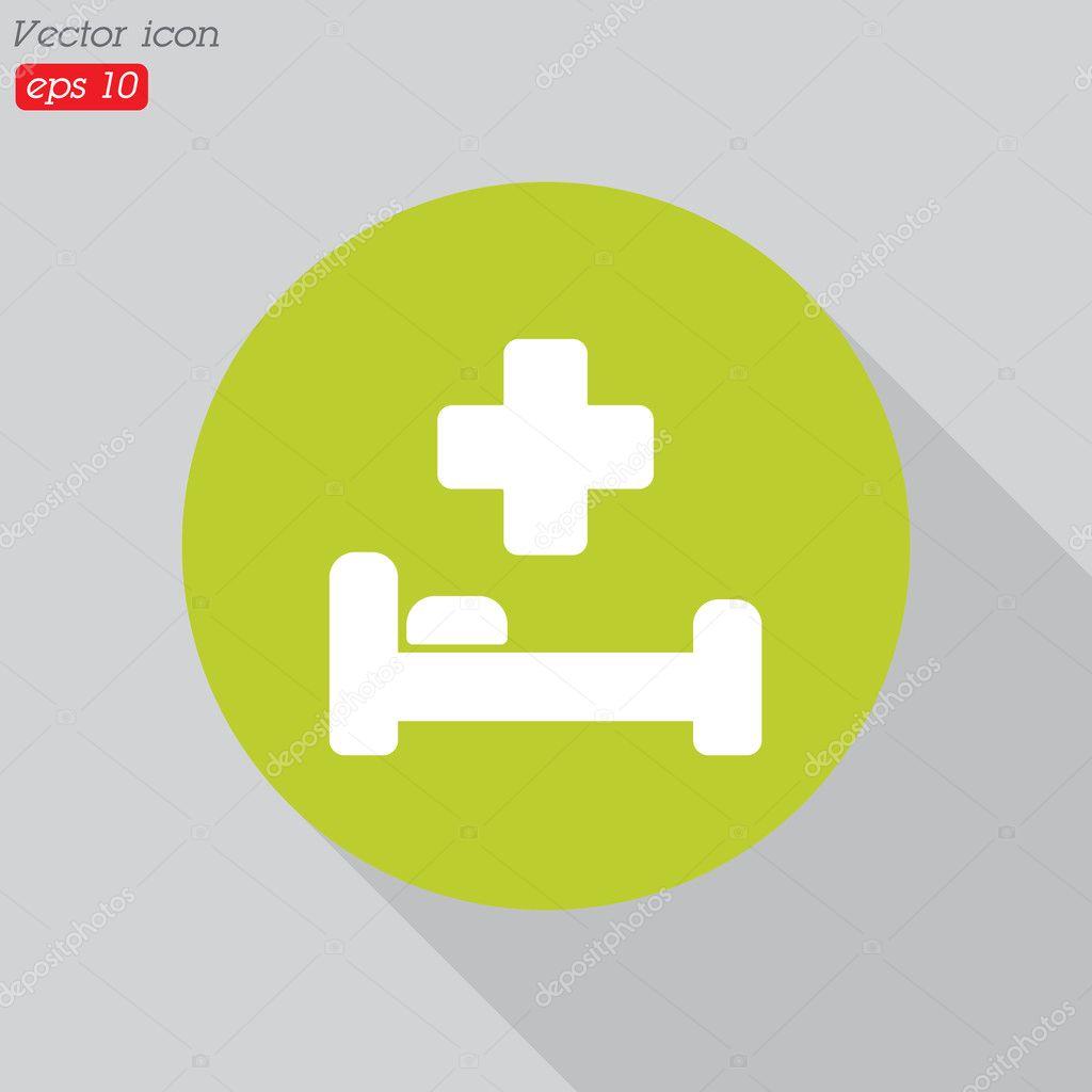 Design Of Hospital Symbol Stock Vector Ppvector 125828142