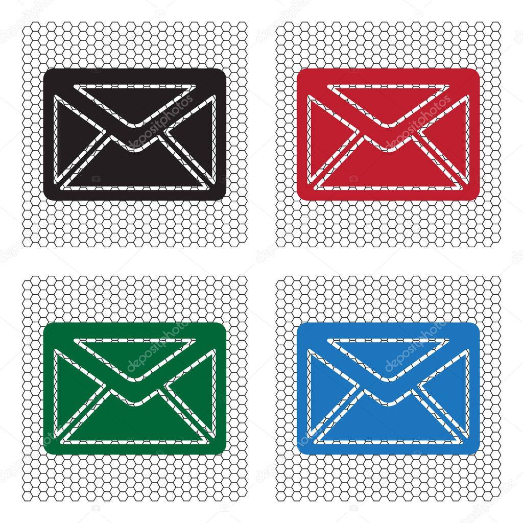 Gestaltung Der Briefumschlag Symbol Stockvektor Ppvector 129408478