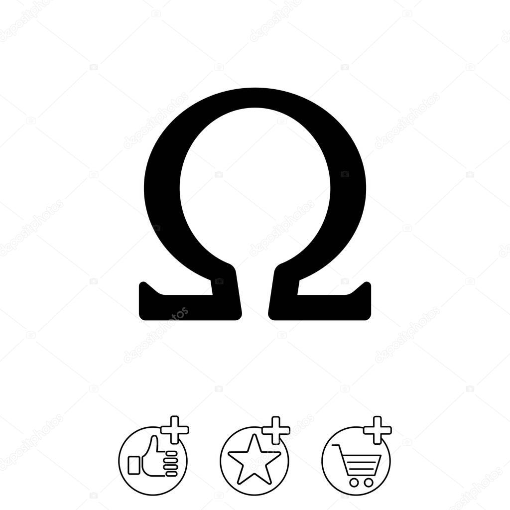how to draw omega symbol