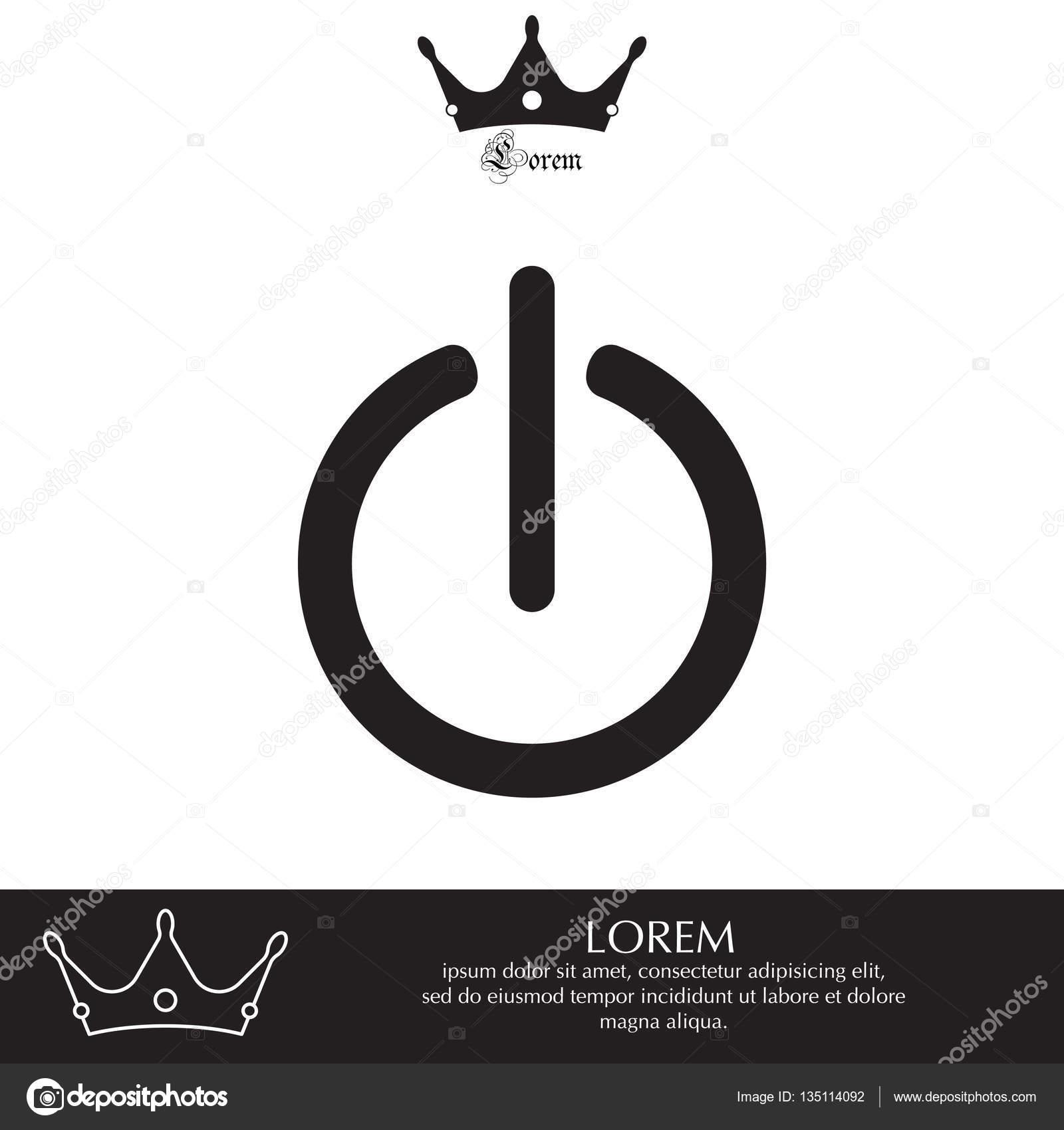 Ein-/ausschalten-Symbol — Stockvektor © PPVector #135114092