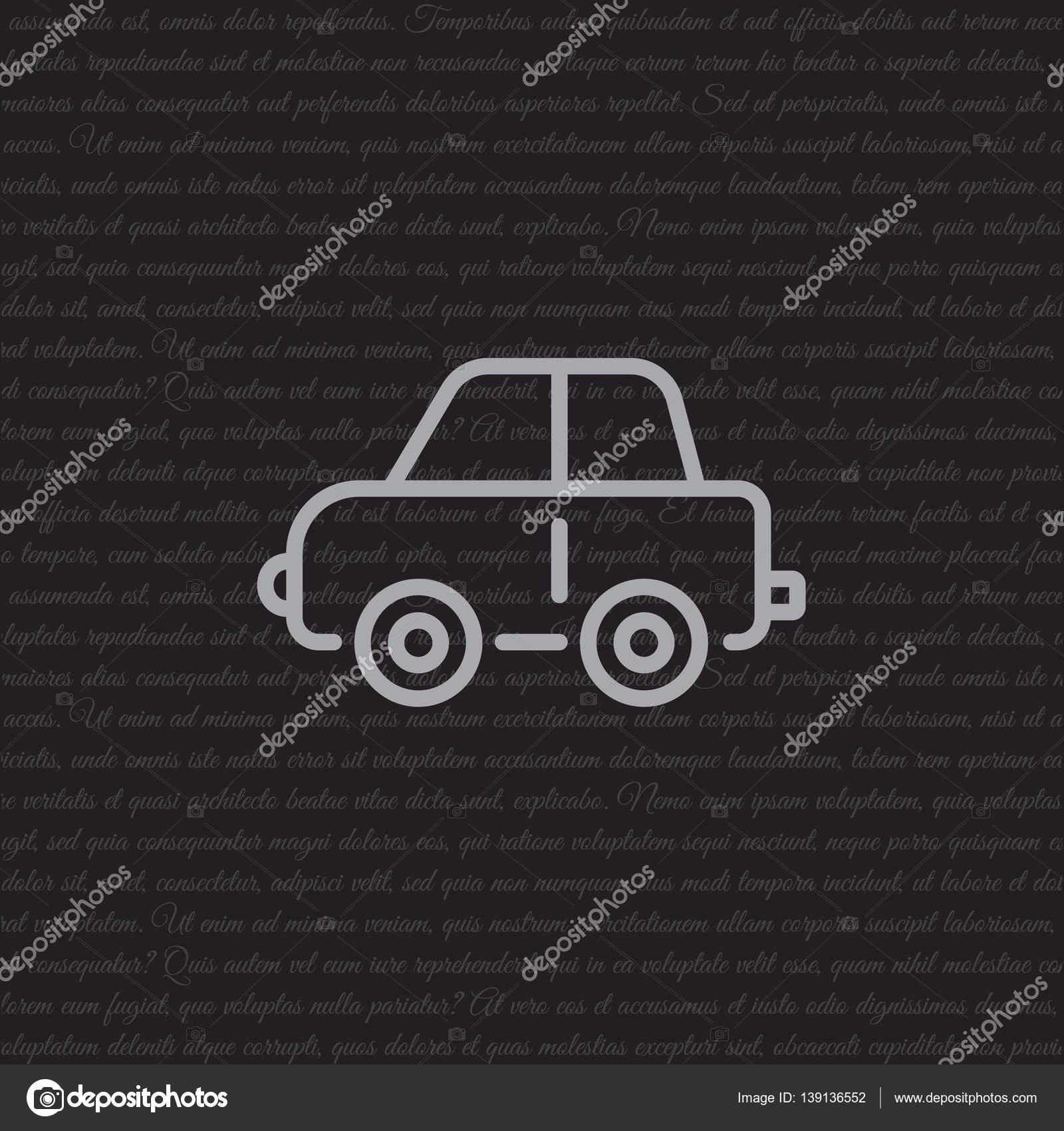 Toy Car Icon Stock Vector C Ppvector 139136552