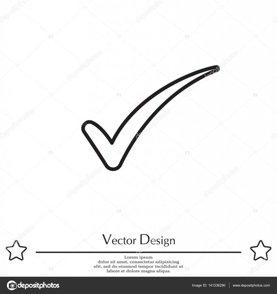 Check mark symbol — Stock Vector © PPVector #141336290