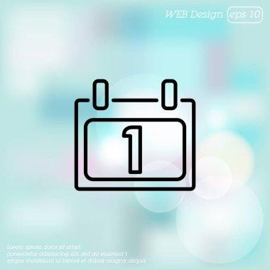 Web line icon