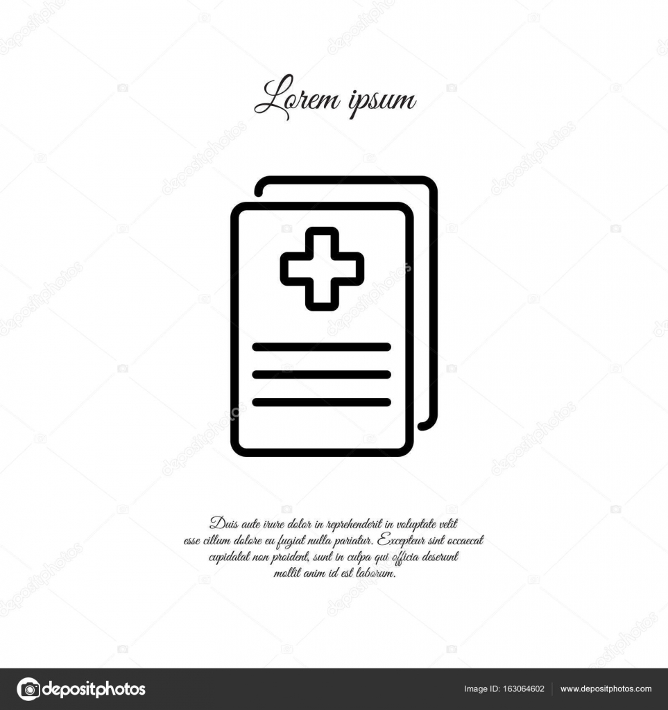 Medical forms medical certificate stock vector ppvector medical forms medical certificate vector by ppvector xflitez Gallery